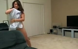 Fooling around with two gals in amateur nude webcam