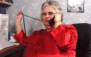 BBW granny from UK