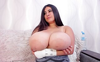 Busty BBW  - Amateurs Brunette Obese