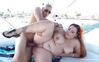 Boat Poke - BBW almost Bikini Kayla knowledgeable