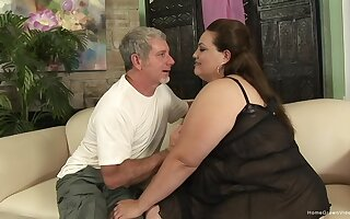 Awe-inspiring nude amateur porn with a marketable BBW avid for weasel words