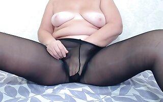 Chunky Chime Blackguardly Pantyhose