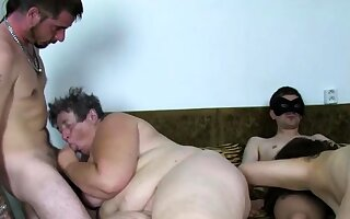 Real eastern europe granny fucked handy amateur orgy