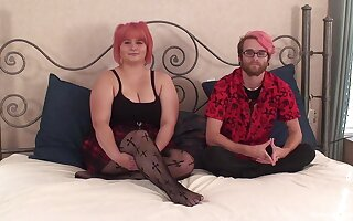 Amateur video be fitting of an ugly BBW obtaining fucked off out of one's mind her strange BF